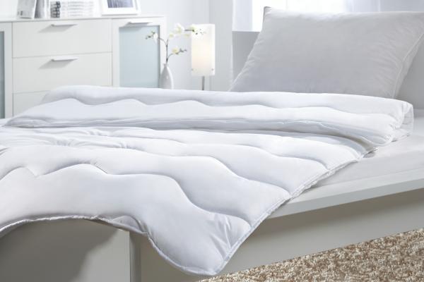 Einziehdecke Zilly, ca. 140x220cm - Weiß, Textil - MÖMAX modern living