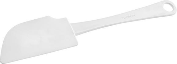 Teigschaber Helga - Weiß, KONVENTIONELL, Kunststoff (25cm)