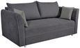 Trosjed Na Razvlačenje San Remo - svijetlo siva, Lifestyle, drvo/tekstil (232/81/99cm) - Modern Living