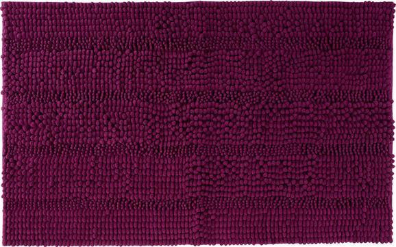 Badematte Uwe ca. 60x100cm - Magenta, Textil (60/100cm) - MÖMAX modern living