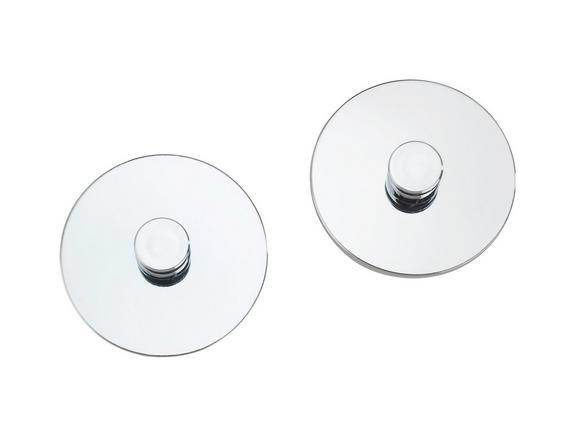 Handtuchhaken Chromfarben - MODERN, Metall (6cm) - Mömax modern living