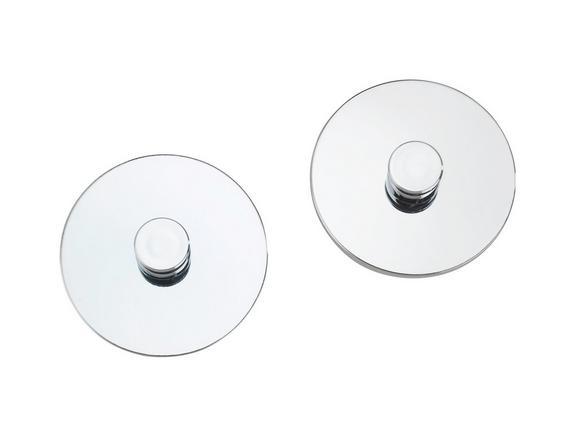 Handtuchhaken in Chromfarben - MODERN, Metall (6cm) - Mömax modern living