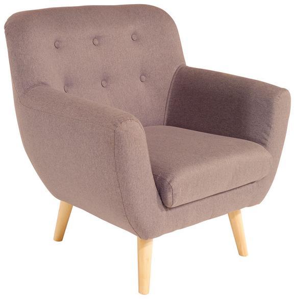 Fotelja Somero - siva/prirodne boje, MODERN, drvni materijal/drvo (89/86/78cm) - Ombra