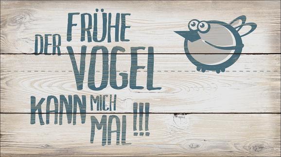 Dekopaneel Sarah, 27x15x1,1cm - Blau/Beige, MODERN, Holzwerkstoff (27/15/1,1cm) - Mömax modern living