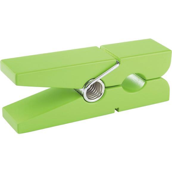 Stenski Nosilec Gams - zelena, Konvencionalno, leseni material (20/5/7,5cm)