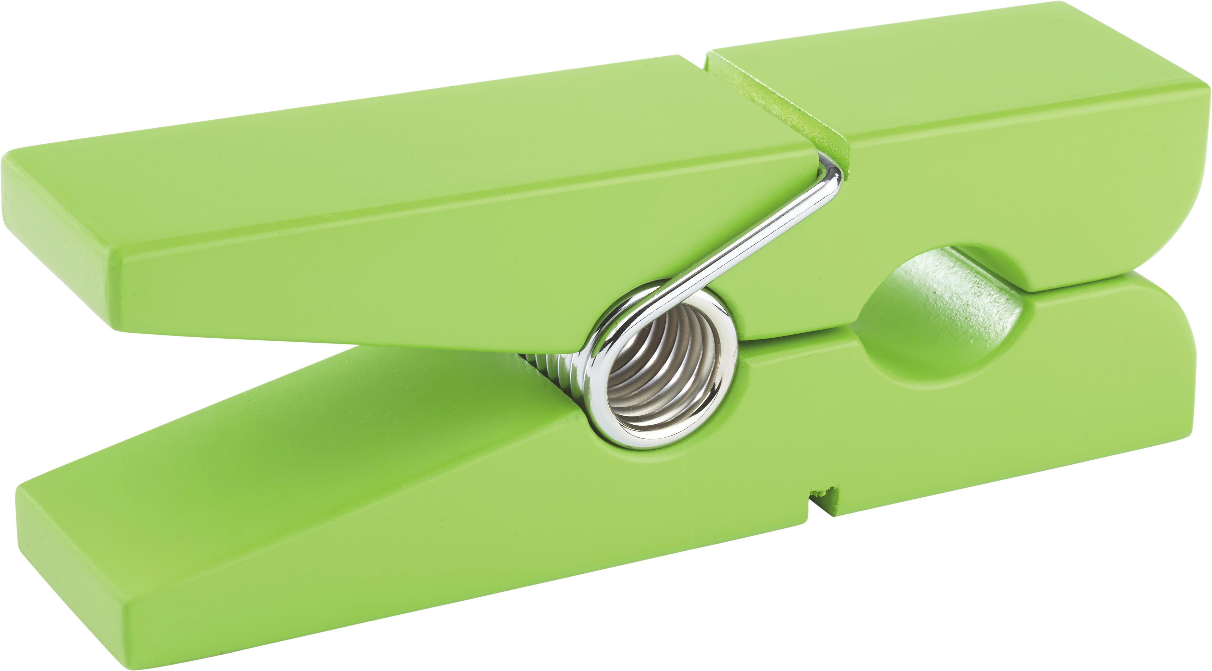 Wandhalter Gams in Grün aus Holz - Grün, Holzwerkstoff (20/5/7,5cm) - MÖMAX modern living