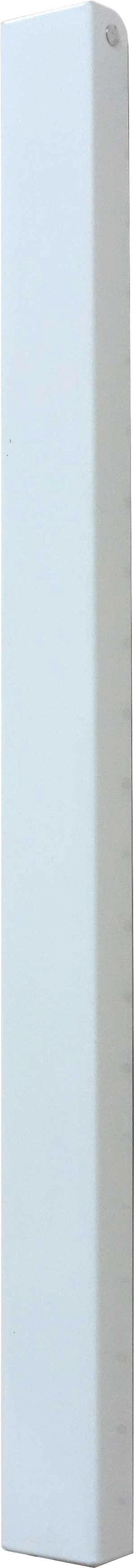 Hakenleiste in Weiß aus Metall - Weiß, Metall (4,3/44/2,3-42cm) - MÖMAX modern living