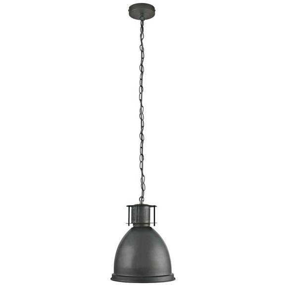 Hängeleuchte Denis, max. 60 Watt - Edelstahlfarben, LIFESTYLE, Metall (22,5/19/124cm) - Mömax modern living