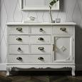 Kommode Lewis Vintage - Weiß, MODERN, Holz/Metall (105/80/34cm) - Mömax modern living