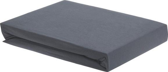 Spannleintuch Elasthan ca. 150x200cm - Anthrazit, Textil (150/200/28cm) - Premium Living