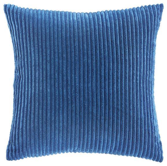 Zierkissen Layla 45x45cm - Blau, MODERN, Textil (45/45cm) - MÖMAX modern living