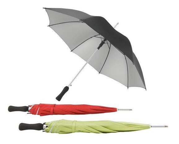 Regenschirm Umbrella - Rot/Grau, Kunststoff/Metall (42/58cm) - Mömax modern living
