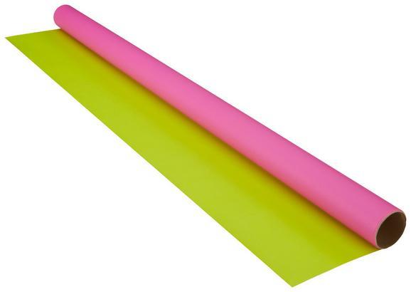 Ajándékcsomagoló Papír Marie - Pink/Zöld, Papír (70/200cm) - Mömax modern living