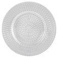 Desszertes Tányér Carolin - Átlátszó, romantikus/Landhaus, Üveg (21,5/2cm) - Zandiara