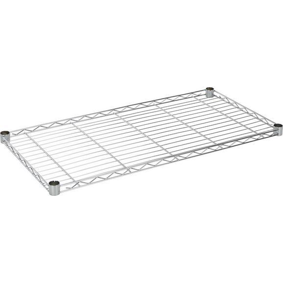 Regalboden aus Stahl - Silberfarben, MODERN, Metall (91/4/46cm) - Mömax modern living