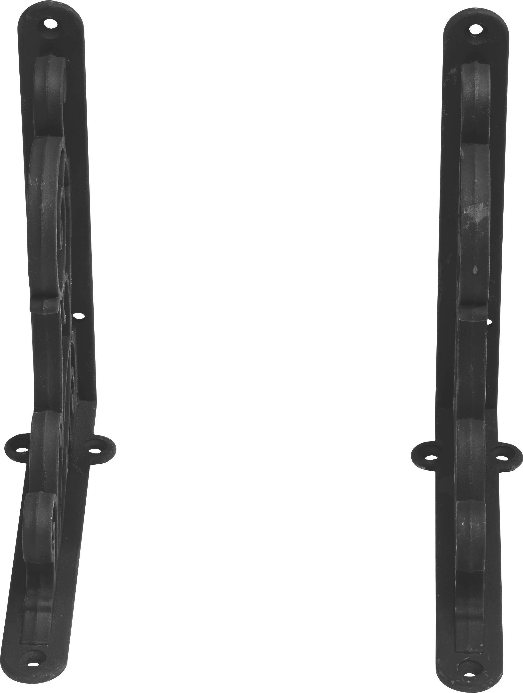 Polctartó Classic Umbrie - fekete, fém