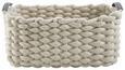 Korbset Cathrin 3-er Set - Weiß/Grau, MODERN, Kunststoff