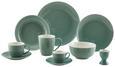 Plitvi Krožnik Sandy - meta zelena, Konvencionalno, keramika (26,8/2,42cm) - Mömax modern living