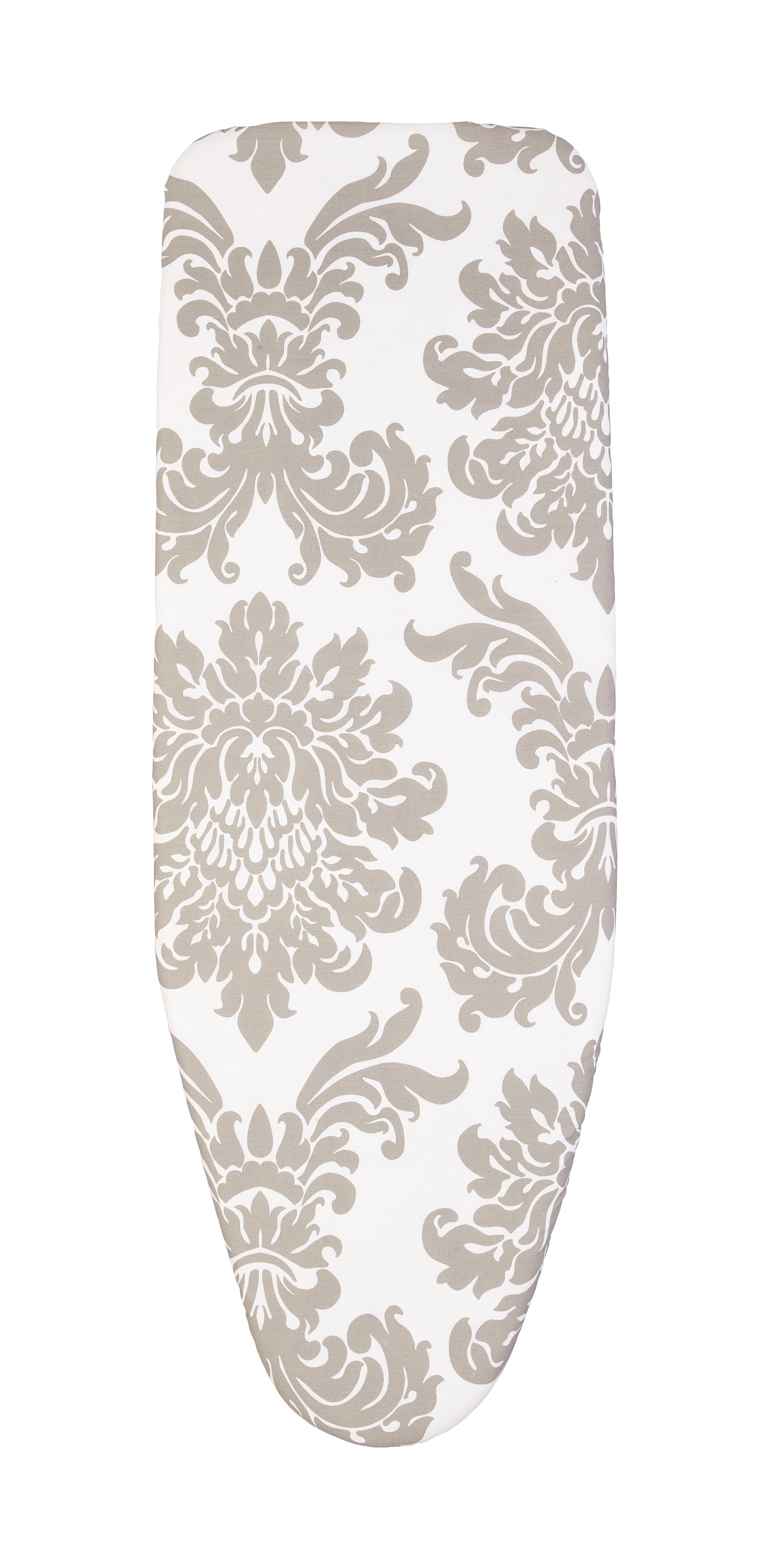 Vasalódeszka Huzat Kate - fehér/szürke, textil (50/130cm) - MÖMAX modern living