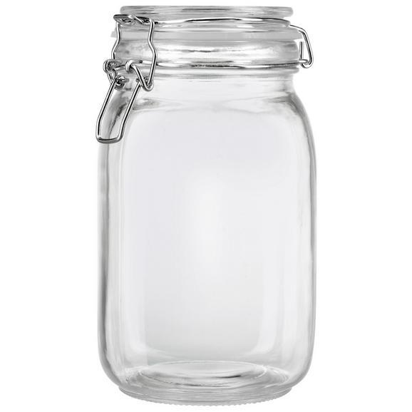 Einmachglas Nele ca. 1500ml - Klar, Glas/Metall (1,5l) - Mömax modern living