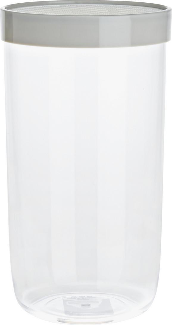Vorratsdose Cora, ca. 1100 Ml - Klar/Weiß, MODERN, Kunststoff (10,5/19cm) - Mömax modern living