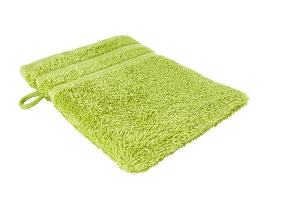 Rokavica Za Umivanje Melanie - zelena, tekstil (16/21cm) - Mömax modern living
