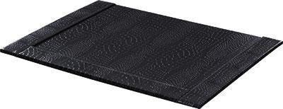 Íróalátét Krokodilbőr Hatás - fekete, Lifestyle, karton (52/0,8/38cm) - MÖMAX modern living