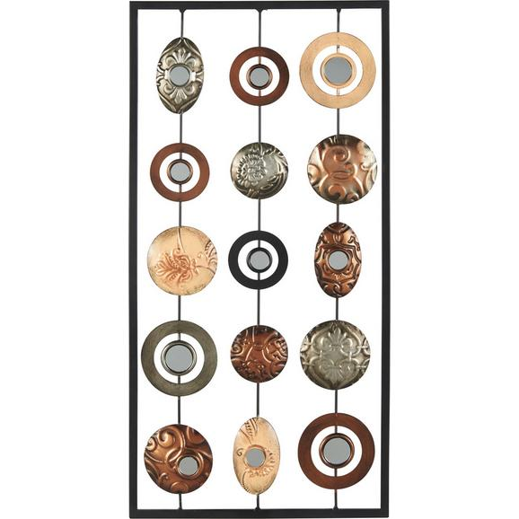 Stenska Dekoracija Elliot - večbarvno, Konvencionalno, kovina (31/61/1,5cm) - Mömax modern living