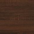 Tisch Dave ca. 160x90cm - Walnussfarben/Schwarz, MODERN, Holz/Metall (160/90/76cm) - Modern Living