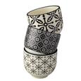 Becher Shiva in verschiedenen Designs - Schwarz/Weiß, LIFESTYLE, Keramik (7/6cm) - Mömax modern living