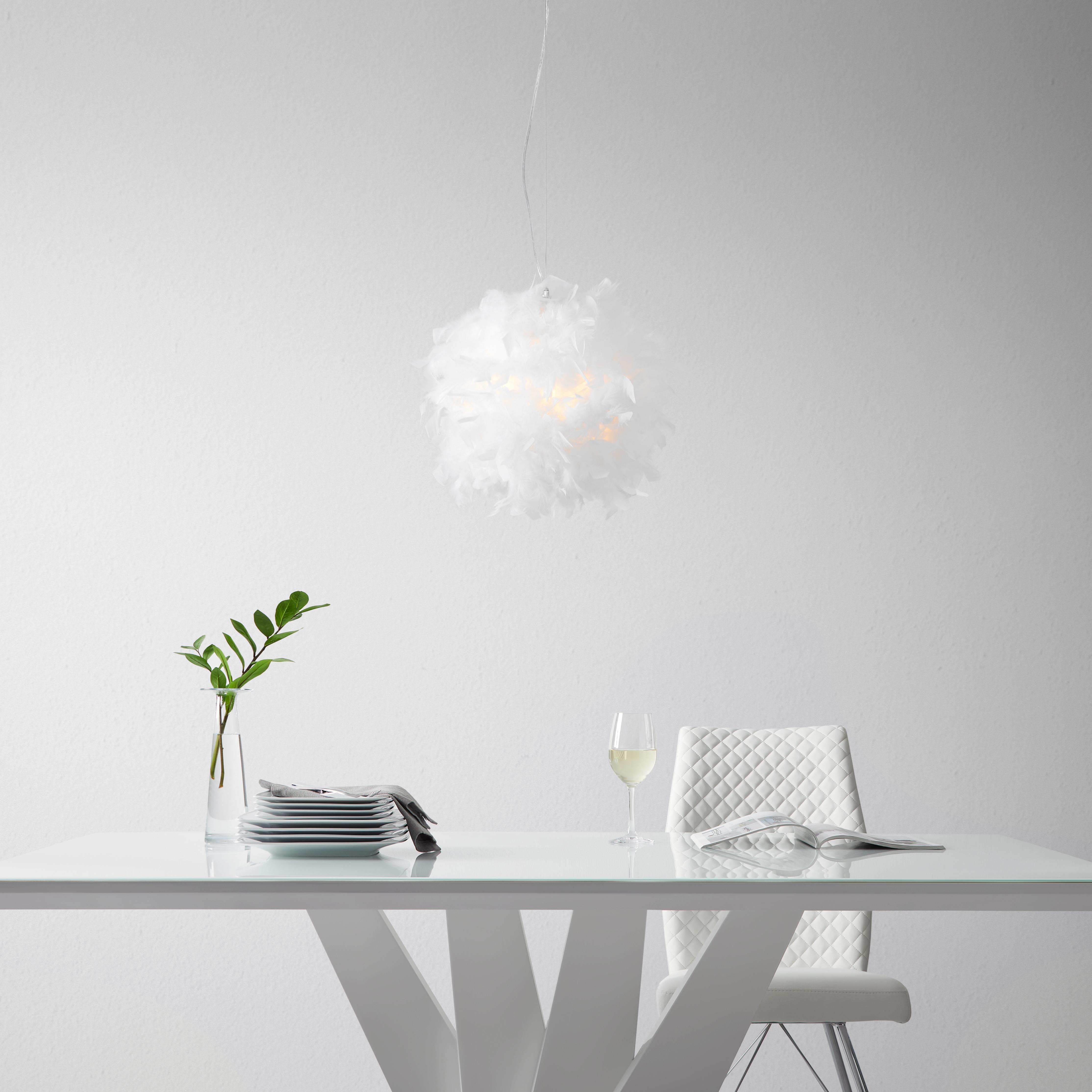 Klassische H/ängeleuchte in Matt Schwarz 5xE14 bis zu 60 Watt 230V aus Metall Schlafzimmer K/üche Wohnzimmer Esszimmer Lampe Leuchten innen
