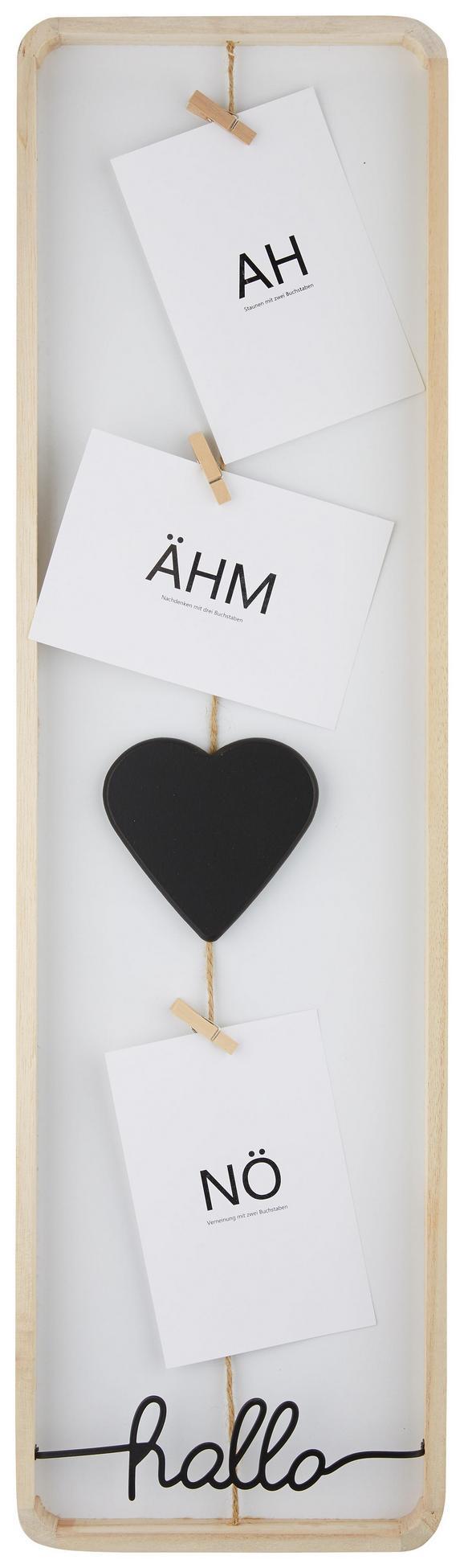 Fotohalter Milus in verschiedenen Farben - ROMANTIK / LANDHAUS, Holz/Holzwerkstoff (20/70cm)