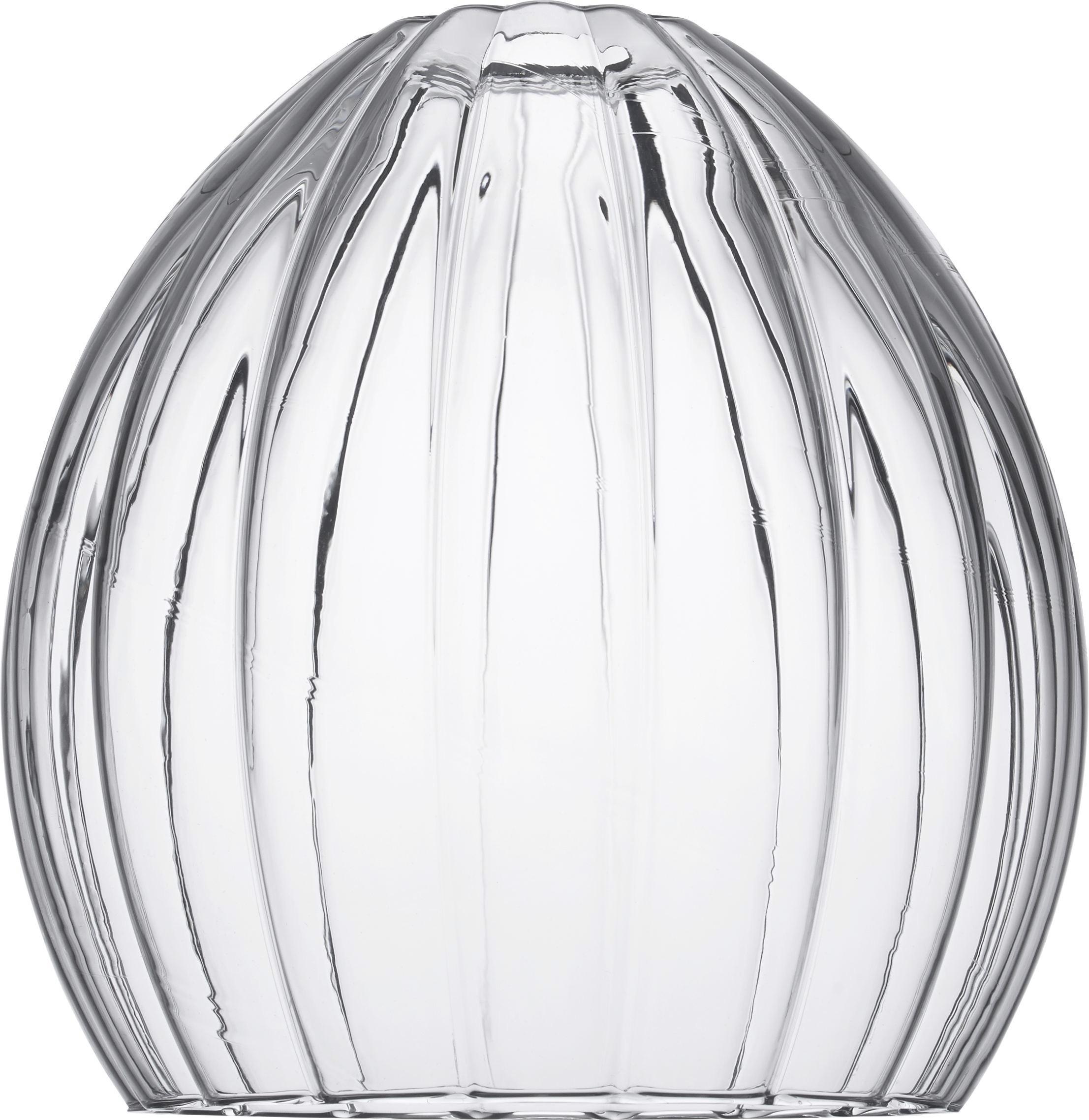 Leuchtenschirm Else aus Glas - Transparent, Glas (25/26cm) - MÖMAX modern living