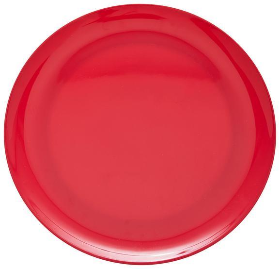 Speiseteller Uni Pink - Pink, Trend, Kunststoff (25,2cm) - Mömax modern living