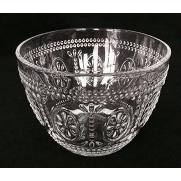Schüssel St. Remy aus Glas ca. Ø 13cm - Rosa, ROMANTIK / LANDHAUS, Glas (13/7,7cm) - Mömax modern living