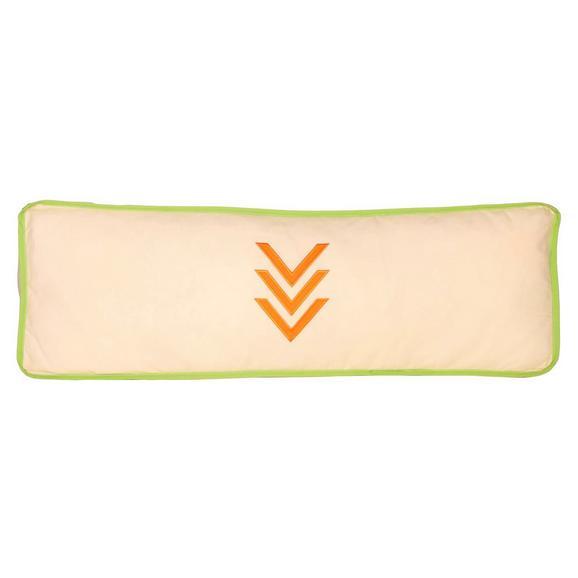KINDERKISSEN SEITENKISSEN - Beige/Orange, Design, Textil (88/11/30cm)