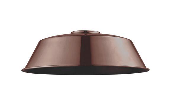Leuchtenschirm Felix in Kupfer - Kupferfarben, MODERN, Metall (36/36/18cm) - Mömax modern living