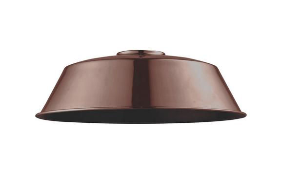 Leuchtenschirm Felix Kupfer - Kupferfarben, MODERN, Metall (36/36/18cm) - Mömax modern living