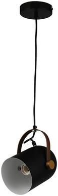 Hängeleuchte Jaro max. 1x60 Watt - Schwarz, MODERN, Metall (22/180cm) - Mömax modern living