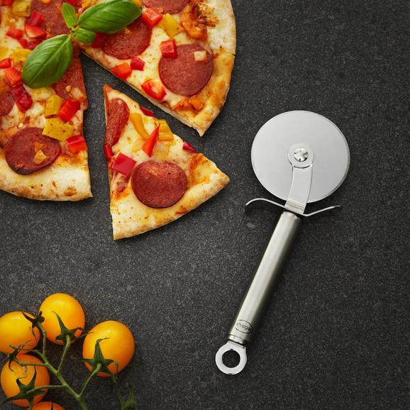 Pizzaschneider Rösle - Edelstahlfarben, MODERN, Metall (20/7/2cm) - Rösle