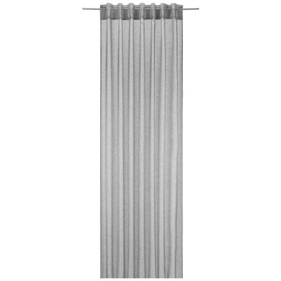 Končana Zavesa Mila 2-delni Set - antracit, Konvencionalno, tekstil (140/245cm) - Mömax modern living