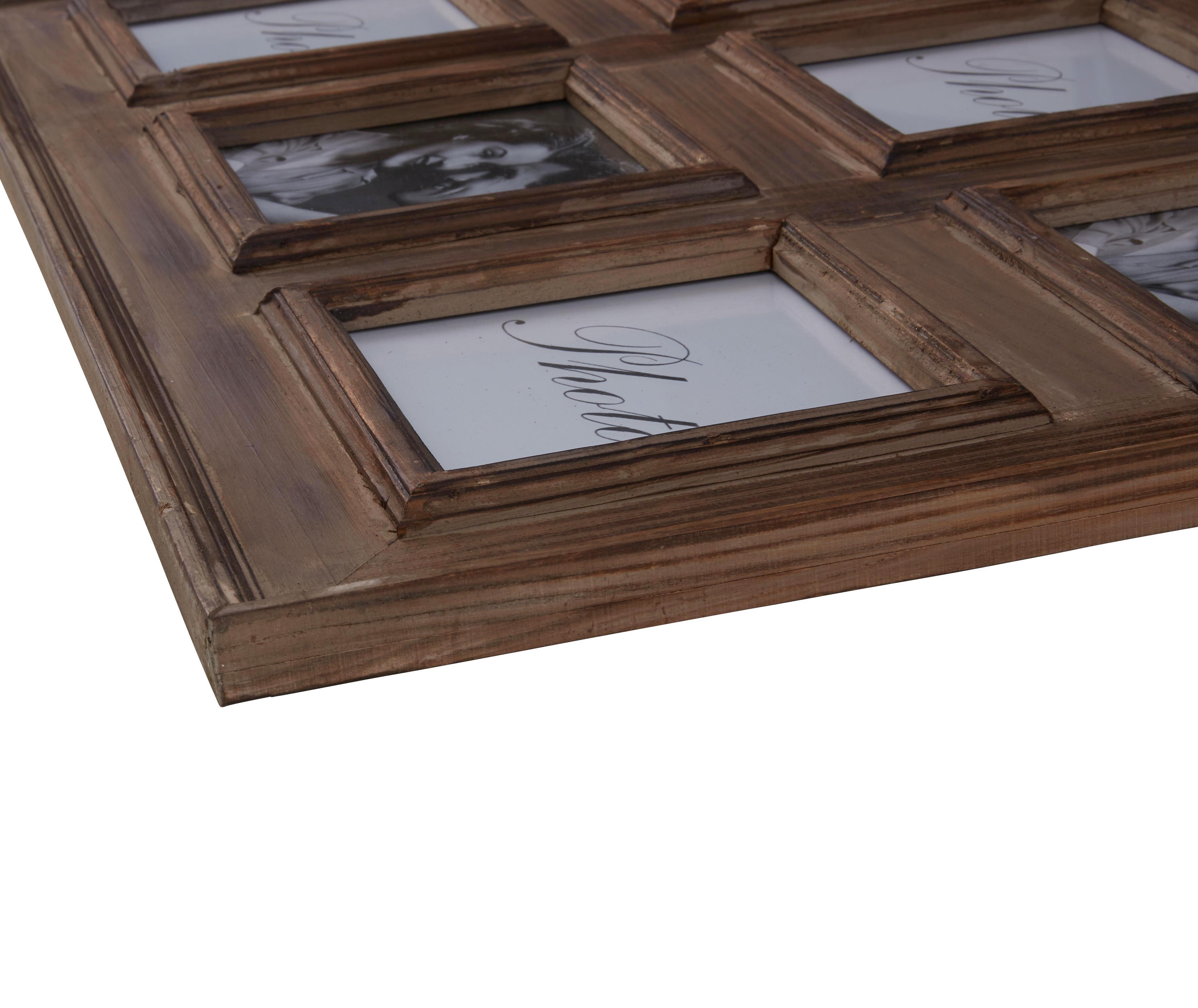 Bilderrahmen Cora, ca. 80x80cm - Braun, ROMANTIK / LANDHAUS, Holz (80/80cm) - MÖMAX modern living