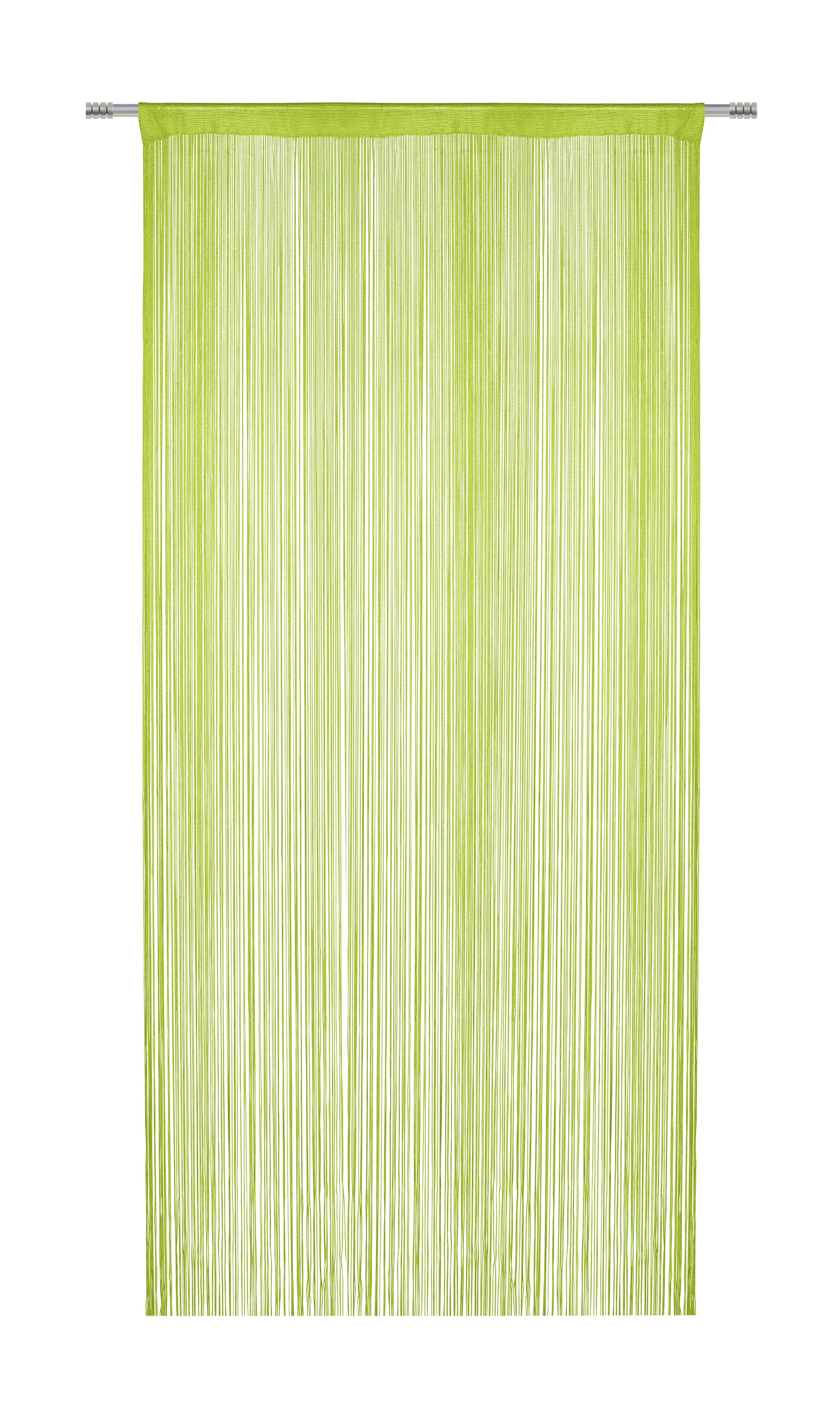 Zsinórfüggöny Franz - zöld, textil (90/245cm) - MÖMAX modern living