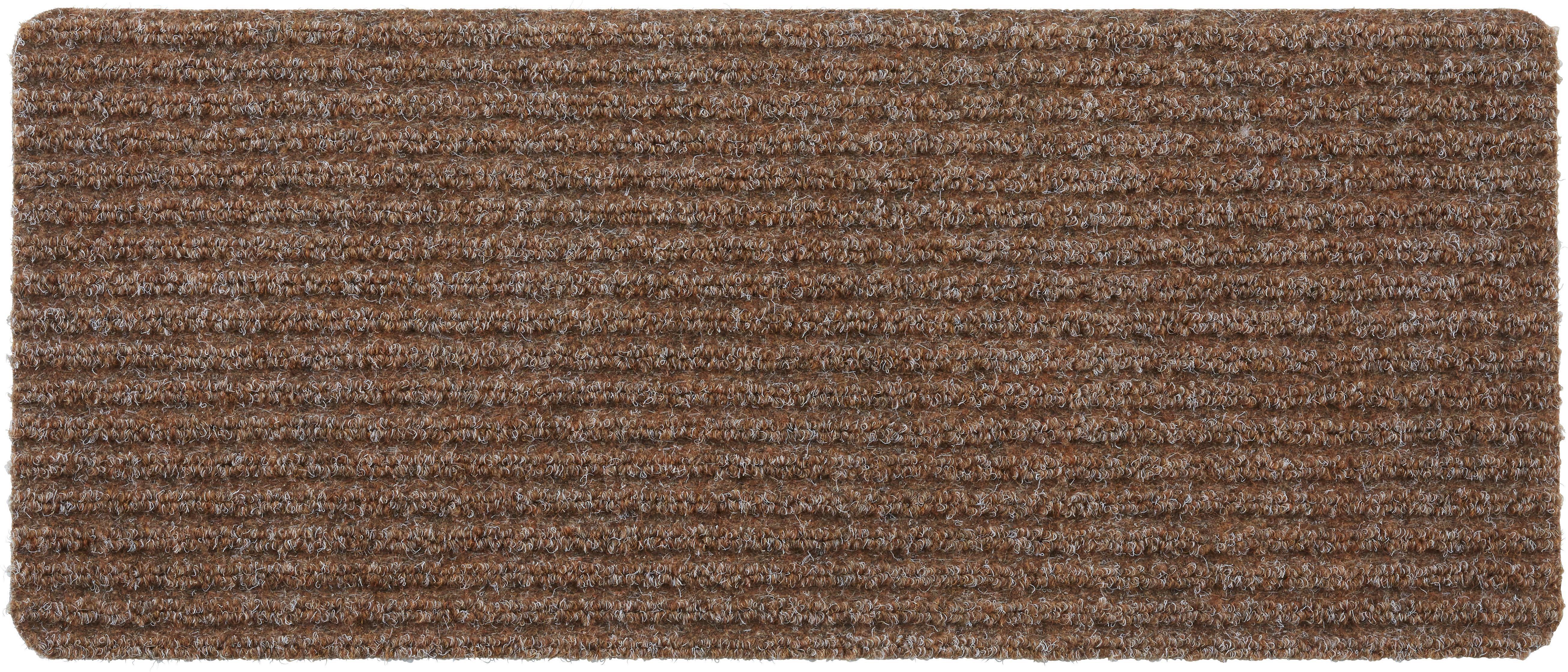 Lábtörlő Mona - barna/kék, konvencionális, textil (25/60cm) - MÖMAX modern living