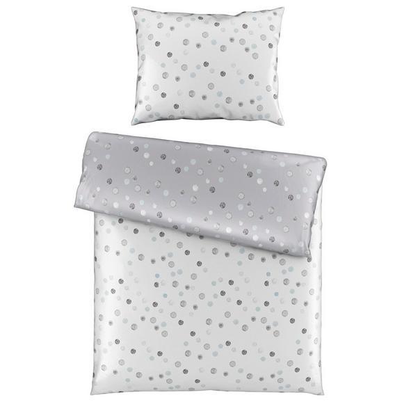 Posteljnina Julia Wende -ext- - siva/bela, Konvencionalno, tekstil (140/200cm) - Premium Living