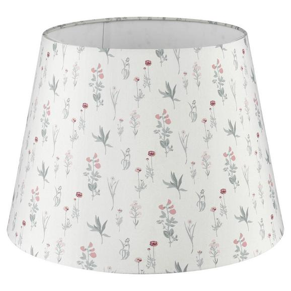 Abajur Pentru Lămpi Morning Glow - alb, Modern, textil (20/15,6cm) - Modern Living