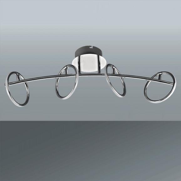 Stropna Led-svetilka Alisa - Moderno, kovina/umetna masa (70,7/16/24,6cm) - Mömax modern living