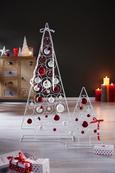 Dekobaum Christmas Tree Weiß - Weiß, LIFESTYLE, Metall (58cm) - Mömax modern living