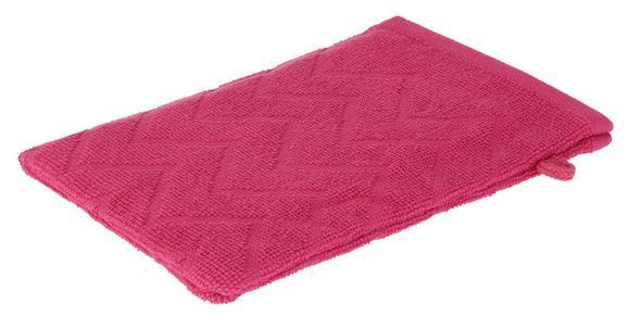 Waschhandschuh Peter in Pink - Pink, Textil (16/21cm) - MÖMAX modern living