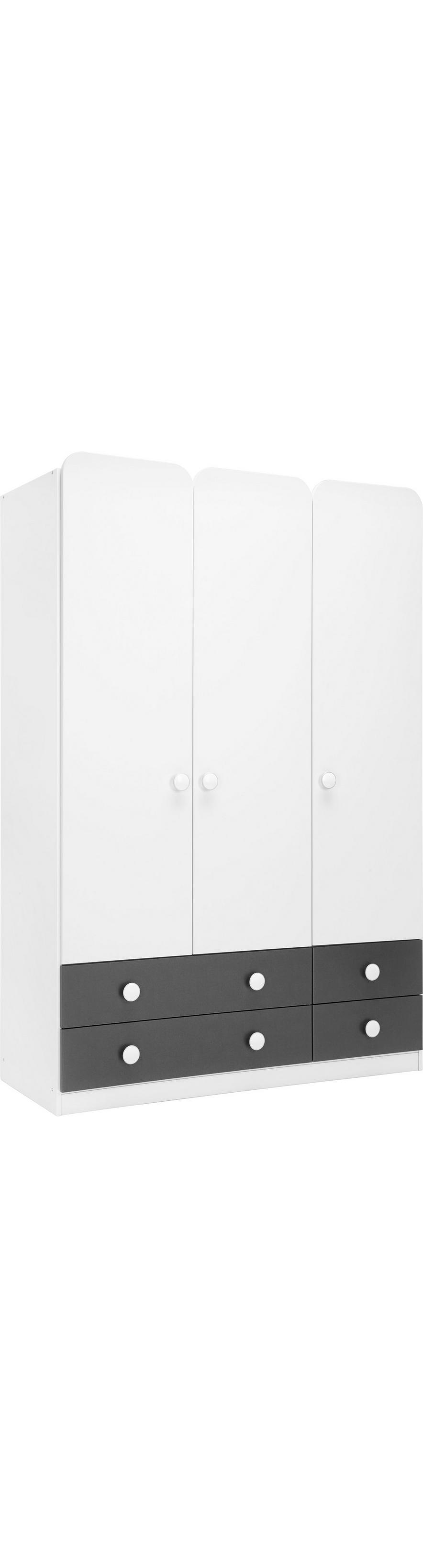 4b22271fdd0 Kleiderschrank in Weiß online kaufen ➤ mömax